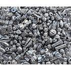[NORDIC Brands] Plastpärla metall med stora hål 200/FP